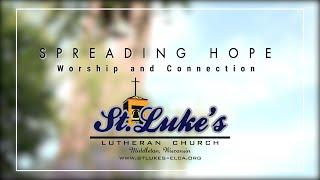 Spreading Hope - Worship & Connection | Stewardship 2020