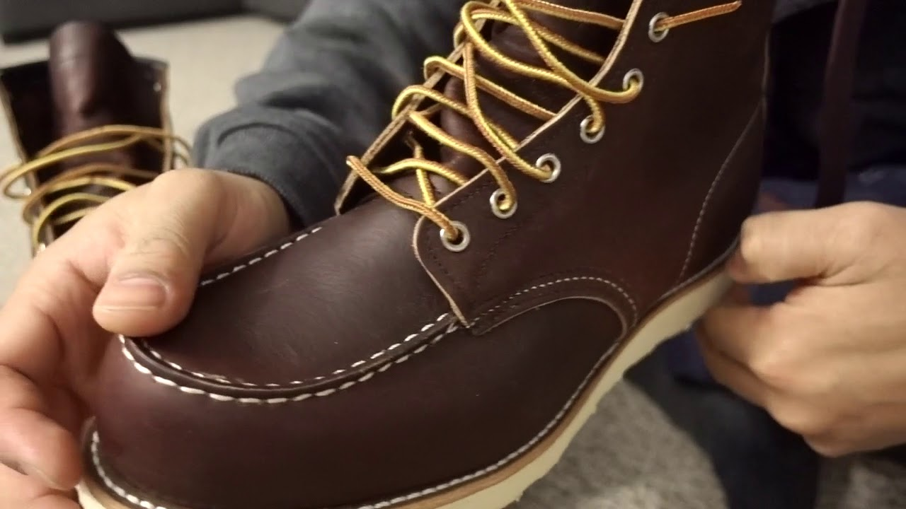2b9289b7524 Red Wing Shoes CLASSIC MOC STYLE NO. 8138