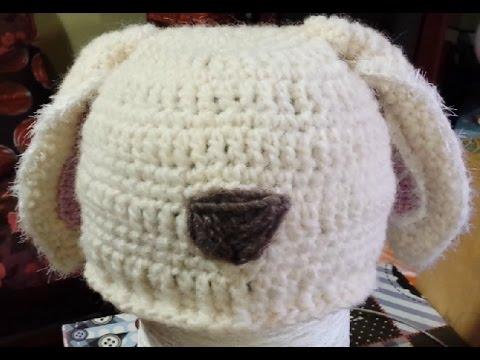 Tutorial Cappello Bimbi Alluncinetto Con Le Orecchie Crochet