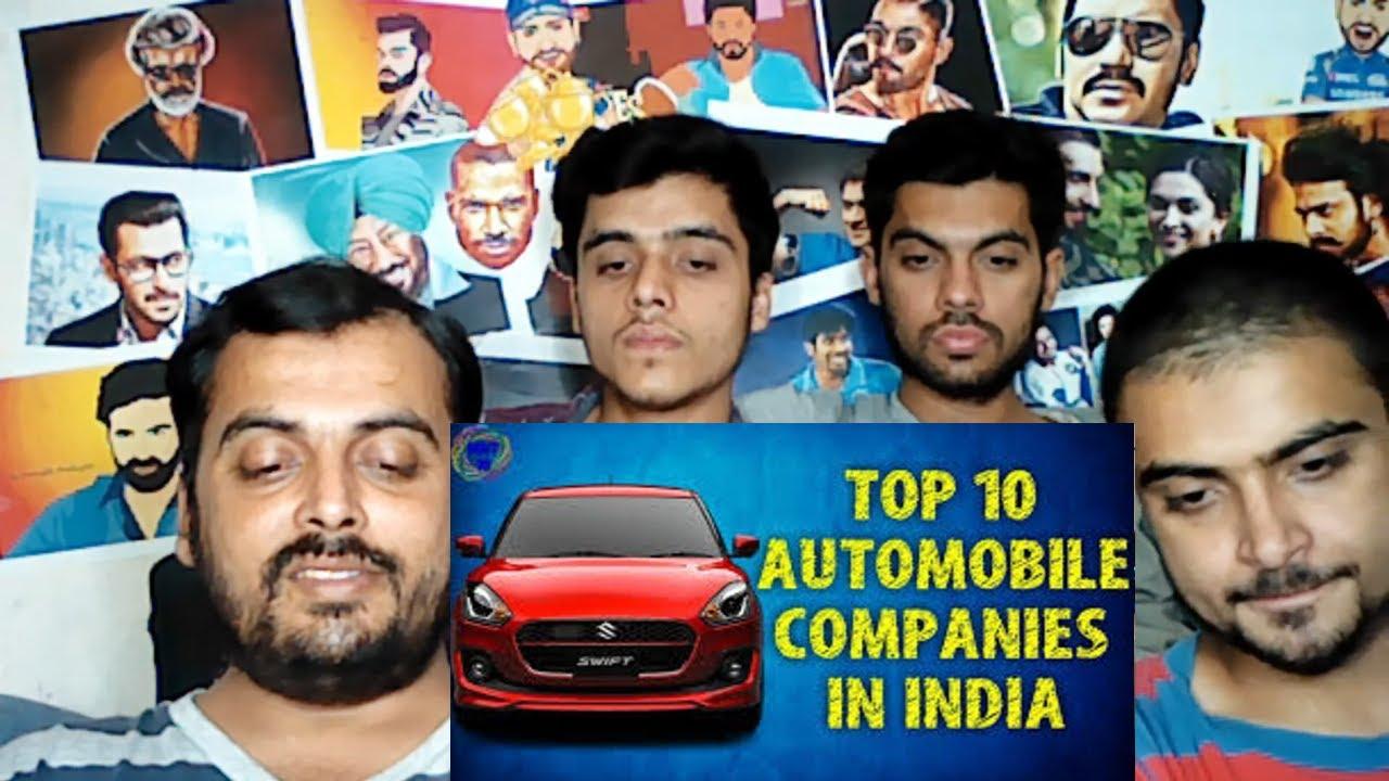 Pakistani Reaction On Top 10 Car Manufacturing Companies In India Top 10 Car Companies In India Youtube