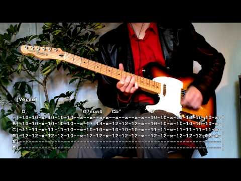 The Party's Crashing Us (Of Montreal guitar tutorial with tabs)