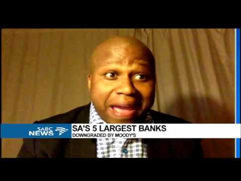 Five SA banks downgraded by Moody's, Lesiba Mothata reacts