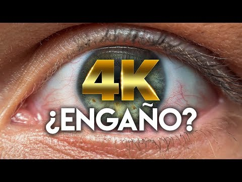 ¿Ve el ojo humano a 4k?