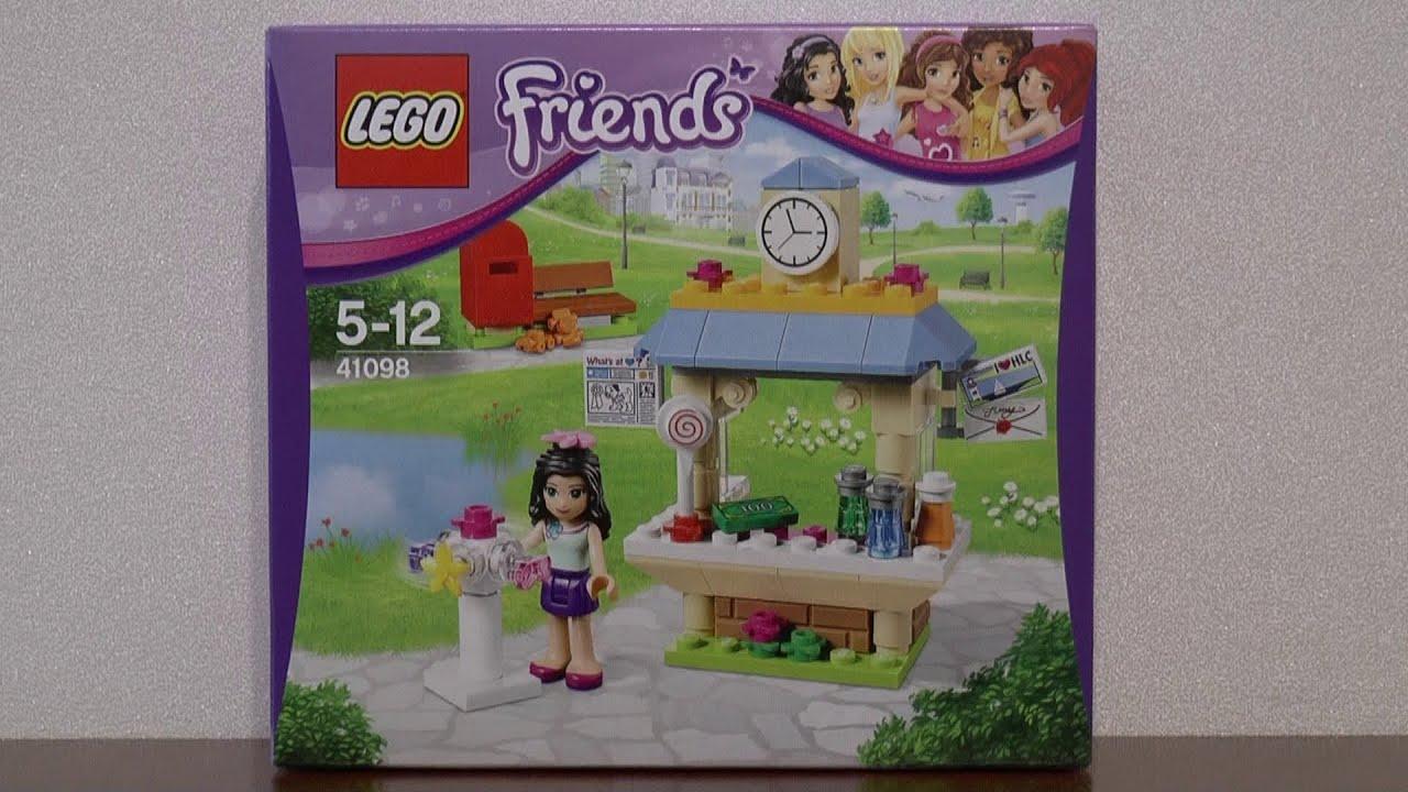 Lego Friends 41098 Kiosk Z Pamiątkami Emmy Youtube