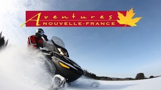 Voyage hiver au Canada (motoneige) avec Aventures Nouvelle-France