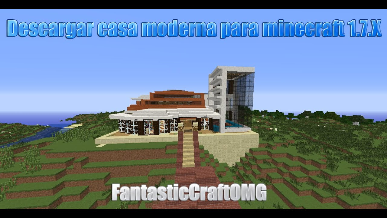 Descargar casa moderna para minecraft for Casa moderna minecraft 0 10 4