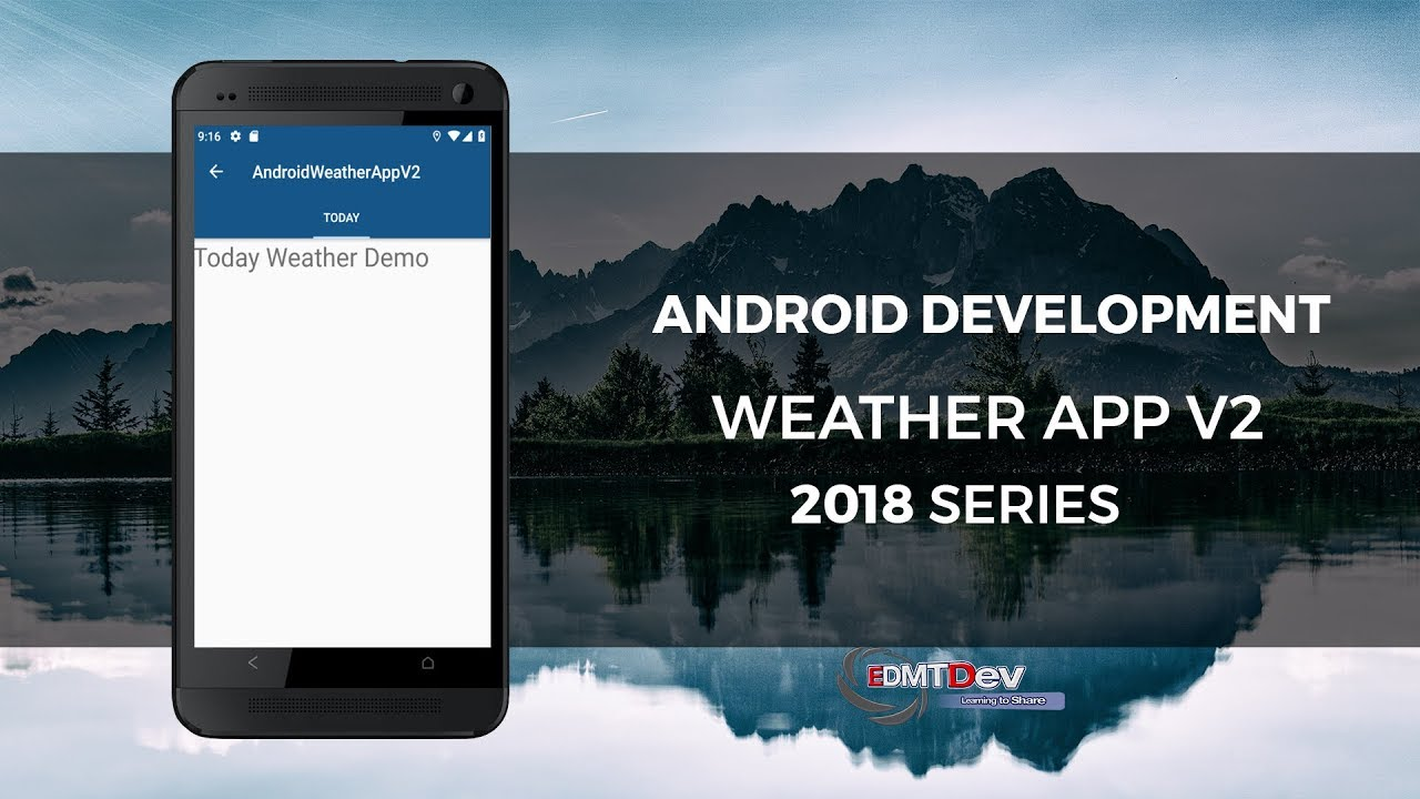 Android Development Tutorial - Weather App V2 Part 1 Register API and Setup  Project