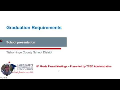 Tishomingo County High School 8th Grade Transition Video 2020