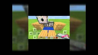 Minecraft pe 0.14.0 otomatik tnt fırlatıcı