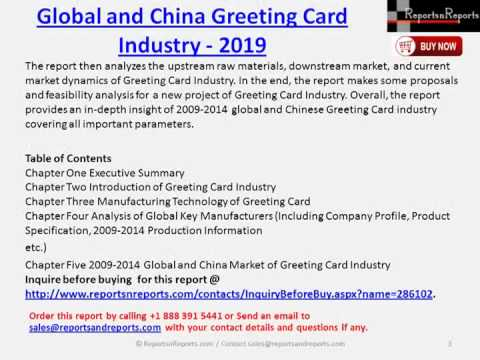 2019 greeting card market report for world and china youtube 2019 greeting card market report for world and china m4hsunfo