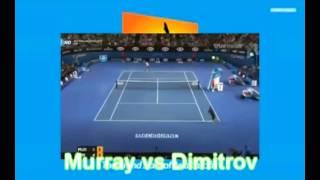 Andy Murray vs Grigor Dimitrov Highlights Australian Open 2015 Round 4