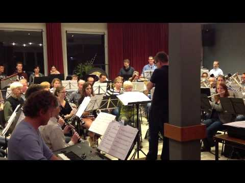 Eerste repetitie met de Sing 'n' Joy band - 1