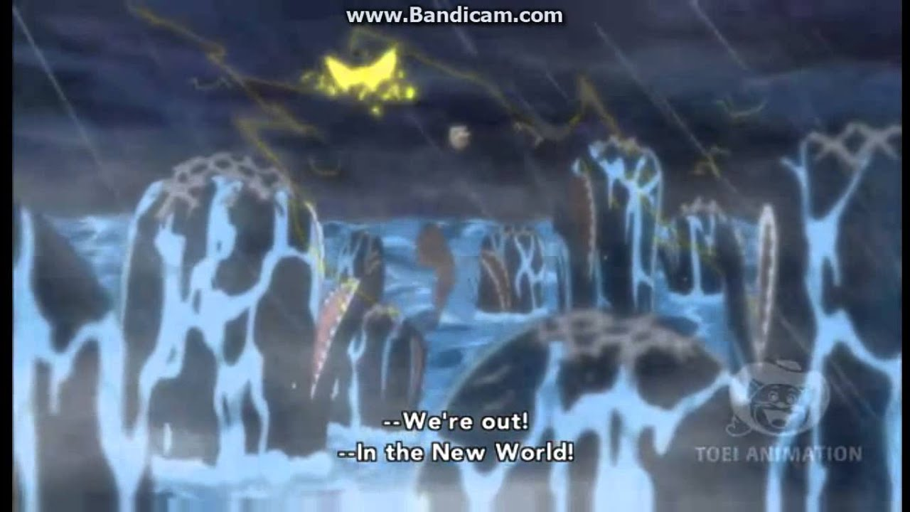 Awesome Straw Hats Entering The New World NEW WORLD One Piece.   YouTube