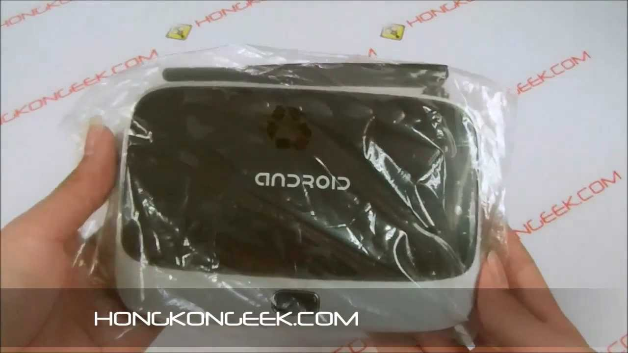 ANDROID TV BOX CS918 QUAD CORE - UNBOXING