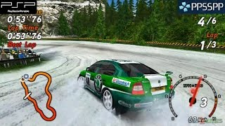 Sega Rally Revo - PSP Gameplay 1080p (PPSSPP)