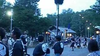 岩内神社例大祭―赤坂奴