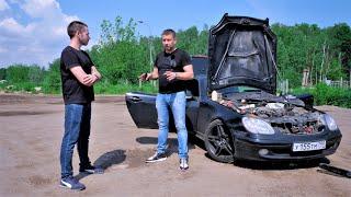 Mercedes SLK - ЗА ТРИ ЧАСА ДО... Решается судьба автомобиля!