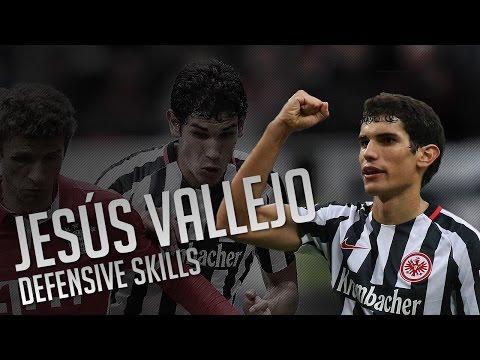 Jesús Vallejo ● Eintracht Frankfurt ● Defensive Skills 2016/17