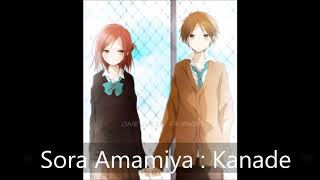 Sora amamiya : kanade ( ed isshukan frends)