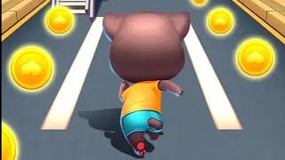 Cat Runner: Decorate Home Game | Tom Gold Run game | Subway Cat Run game | Cat Run Android Gameplay screenshot 1