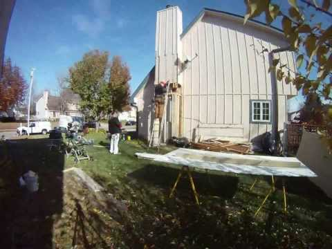 Ola Kansas Chimney Wood Rot Repair by Atlas Coatings and Construction T/L