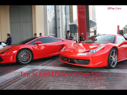 Top 10 Fuel Efficient Green Cars in The World ||
