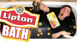 Hot Tea Bath Challenge - Try Not To Drown - Reading Your Comments
