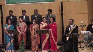Indian Friends for Christ Virginia Sakala Prajalu song - Christmas Program 01012010.wmv
