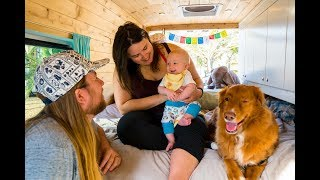VAN LIFE: LIVING in a VAN with a BABY