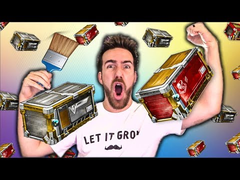 AWESOME DOUBLE PAINTED WEEKEND CRATE OPENING!