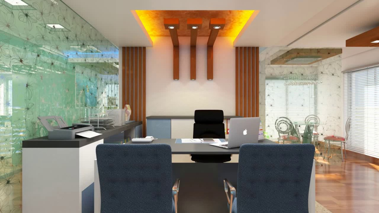 Office interior decoration 2017 youtube for Office decoration pics