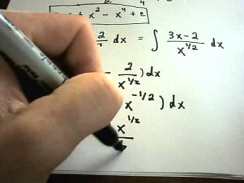 ❖ Basic Integration Problems