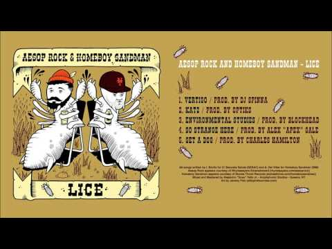 Aesop Rock & Homeboy Sandman - Lice (Official Audio)