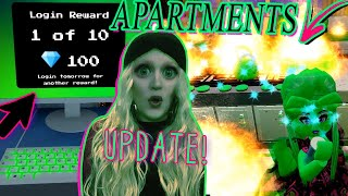 APARTMENTS UPDATE IS OUT (I already burned mine down) Royale High Winter Update!