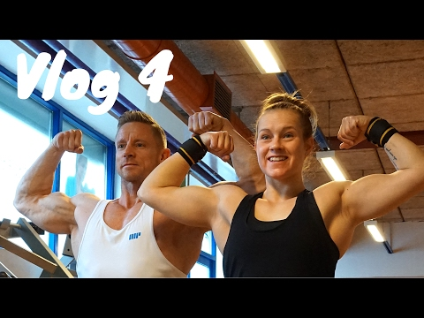 Upperbody WO | Figure Atlet Terese Clausen | Vafler | Vlog 4