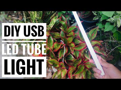 DIY USB LED Tube Light