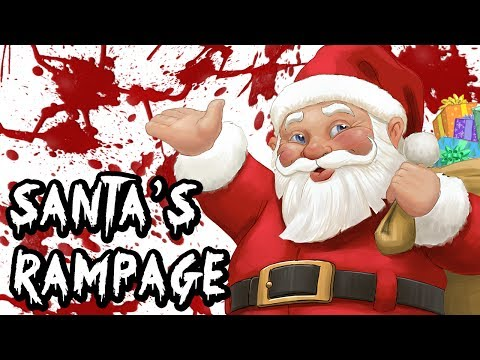 Santa's Rampage (A Christmas Poem)