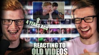 REACTING TO OUR CRINGIEST VIDEOS | 1 Million Subscriber Special