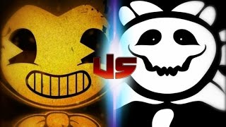 Bendy Vs Flowey (Rap Battles Of Video Games All-Stars)(Season 4)