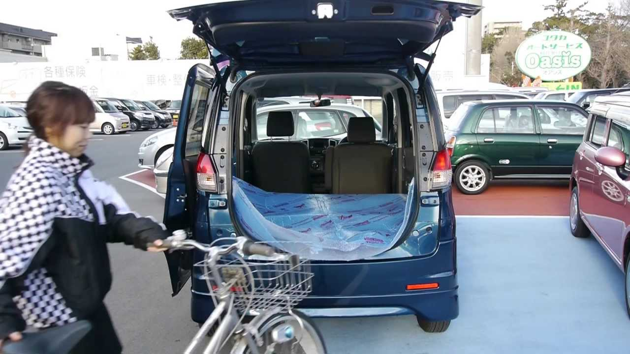 【ソリオ】試乗車のソリオに自転車を載せる|ユタカオートサービス , YouTube