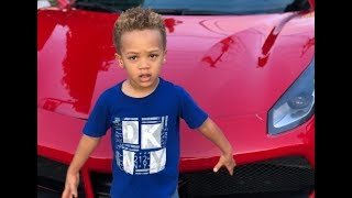 Daddy Freeze test drives the latest Ferrari 488