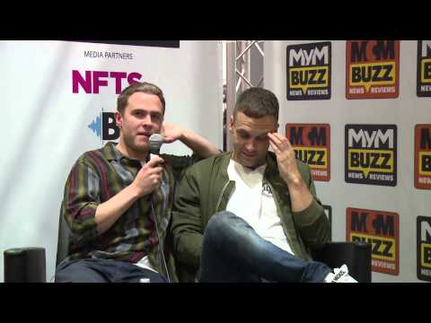 Iain De Caestecker and Nick Blood MCM Buzz stage Episode 11  MCM London Comic Con