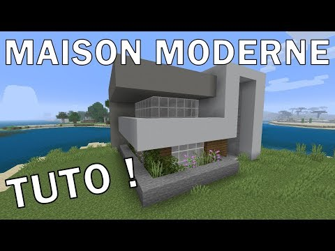 MAISON MODERNE SIMPLE - MINECRAFT PS4 - YouTube