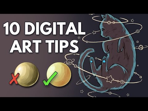 10 Tips for Beginner Digital Artists
