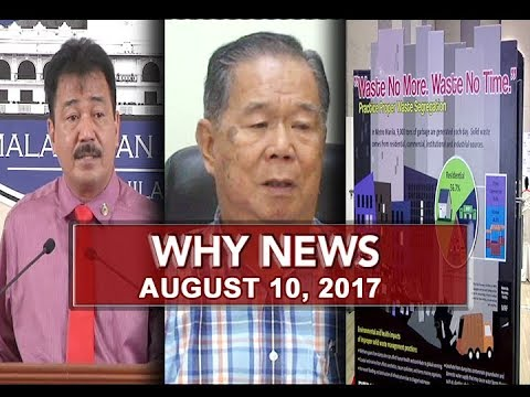 UNTV: Why News (August 10, 2017)