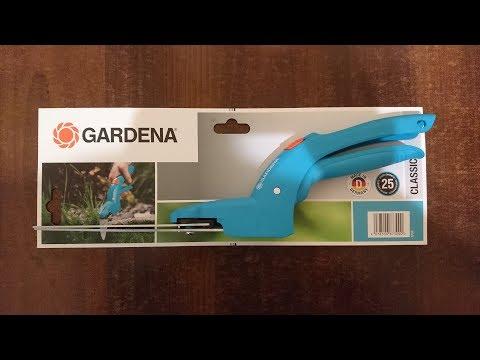 Ножницы садовые Gardena Classic, Unboxing, Распаковка, Обзор