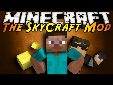 Minecraft Mod Showcase : SKYCRAFT!