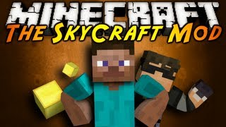 Minecraft Mod Showcase : SKYCRAFT!