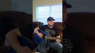 Even Though I'm Leavin Luke Combs cover