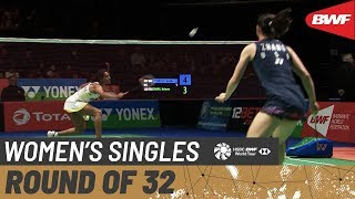 R32 | WS | PUSARLA V. Sindhu (IND) [6] vs. Beiwen ZHANG (USA) | BWF 2020
